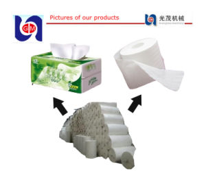 1880mm Bamboo Pulp Toilet Paper Line, Tissue Paper Machine pictures & photos