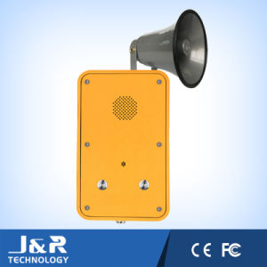 Broadcasting Tunnel Telephone with Loudspeaker Jr104 pictures & photos