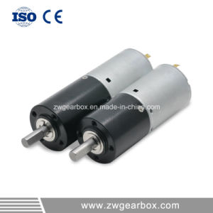 24V Small Electric Motor Reduction Gearbox pictures & photos