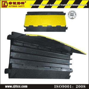 Reflective Rubber Cable Safety Protector pictures & photos