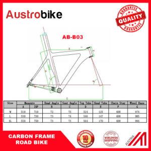 Carbon Road Bike Frame Disc Brake Road Bike Carbon Frameset pictures & photos