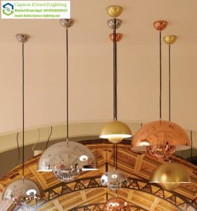 Half Round Indoor Decoration Modern Pendant Light Gd-5057-1s/1L pictures & photos