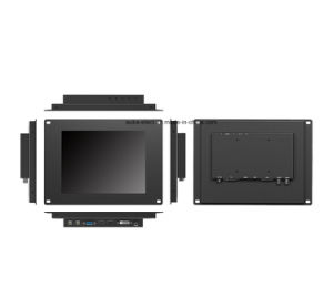 9.7 Inch Open Frame LCD Monitor with 5-Wire Resistive Touch pictures & photos
