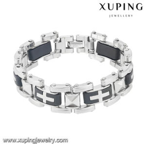 Fashion Cool Popular Latest Silver-Plated Stainless Steel Jewelry Watch Bracelet -Bracelet-7 pictures & photos