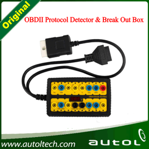 Original Obdii Protocol Detector & Break out Box &Newest OBD II Break out Box with High Quality and Lowest Price pictures & photos
