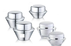 UFO Shape Acrylic Cream Jars for Cosmetic Packaging pictures & photos