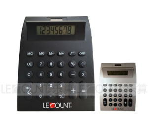 Economic 8 Digits Large Size Dual Power Desktop Calculator (LC232) pictures & photos