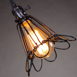 Vintage Decor Ce RoHS Hotel Lamps Bulb Edison 40W E26 120V Pendant Lamp Hot New Products pictures & photos