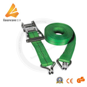 "1"" Polyester Ratchet Tie Down for Lifting"