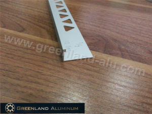 Aluminum Profiles L Shape Tile Edge Trim with Height 12.5mm and Matt Silver Color pictures & photos