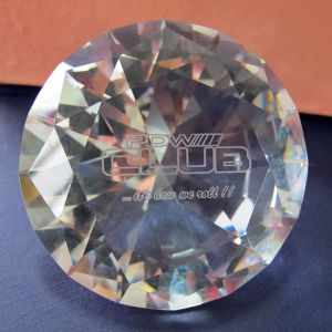 50mm 60mm Wedding Gifts Crystal Diamond, Glass Diamond Custom Engraving pictures & photos