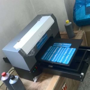 Logo label Printer with Flatbed UV Printer Direct Printing pictures & photos