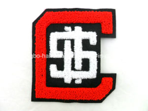 Lovely Eco-Friendly Towel Embroidery Chenille Patch pictures & photos