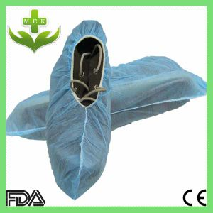 Disposable PP Non Woven Overshoes pictures & photos