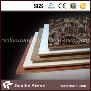 Factory Price of Multi-Color Composite Marble Tile pictures & photos