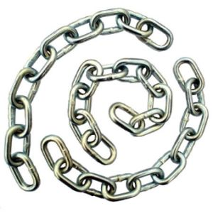 Ordinary Mild Steel Medium Link Chain in Rigging pictures & photos