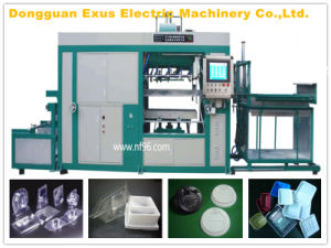 Automatic Plastic Cup Lids Vacuum Thermo Forming Machine with Good Quality