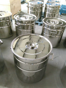 Stainless Steel Ribbed Drum/200L Ribbered Drum/Stainless Steel Ribbed Tank pictures & photos