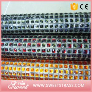 Hot Fix Rhinestone Roll Sheet with Glue Back in Bulk pictures & photos