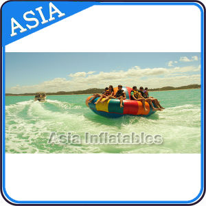 Inflatable Floating Disco Boat, Inflatable Towable Water Game pictures & photos