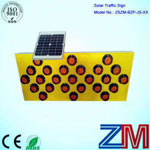 Factory Price Solar Powered Traffic Sign / Road Sign for Construction pictures & photos