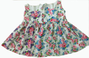 Girls Clothing Children Clothes Kids Wear Dresses for Summer (SQD-104) pictures & photos