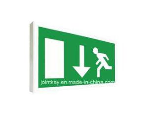 Slim LED Emergency Exit Sign Light Jksl338 LED pictures & photos