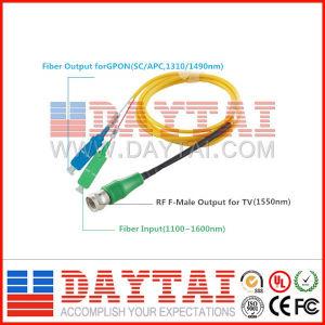 FTTH Pon & CATV Optical Receiver/Converter Mini Fiber Optic Node with Wdm pictures & photos