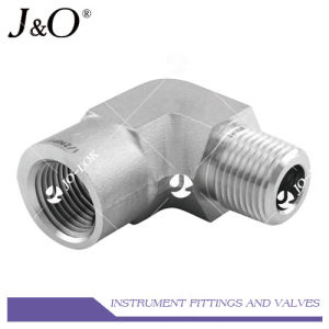 Forged Stainless Steel Connector NPT 90d Elbow Pipe Fitting pictures & photos