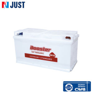 Auto Dry Charged Storage Battery DIN100 12V100ah pictures & photos