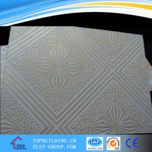 605*1215mm PVC Laminated Gypsum Ceiling pictures & photos
