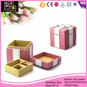 Sales Promotion Cheap Leather Gift Box (8113) pictures & photos