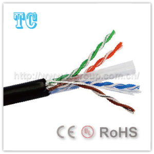 Ce Certificate Cat 6 UTP Outdoor Network Cable pictures & photos