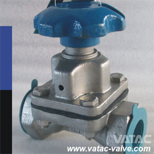 Flanged RF/FF/ Thread/NPT Ends Diaphragm Valve with Handwheel pictures & photos