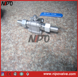 Thread Ball Valve with Extended Body pictures & photos