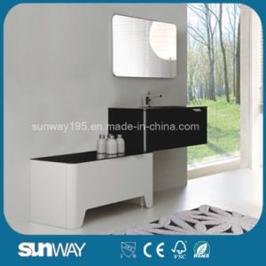 2016 New Fashion Hot Selling Modern Bathroom Cabinet with Mirror pictures & photos