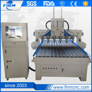 Multi Spindle Wood Engraving Cutting CNC Router for Sale pictures & photos