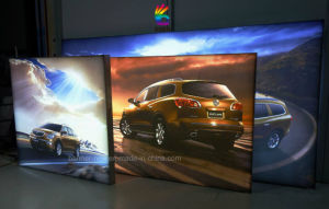 Embedded Strip, Fabric Flexible Film Silicon Edging Light Box (SS-LB4) pictures & photos