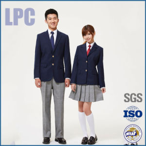 2016 OEM Winter Vintage Customized Teenaged School Uniform pictures & photos