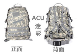 Oxford Mountaineering Backpack/High Quality Tactical Military Backpack pictures & photos