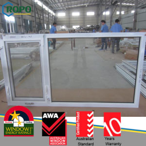 PVC Glass Window, Swing out Window with Handcrank Handle pictures & photos