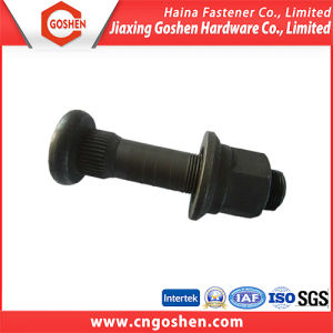 Fastener High Strength Black Oxide Wheel Bolt pictures & photos