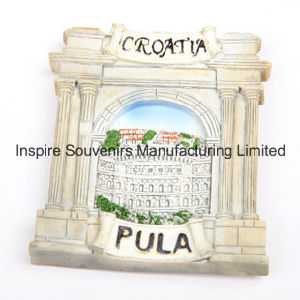 Croatia Promotional Polyresin Fridge Magnet for Collection (PMG006) pictures & photos
