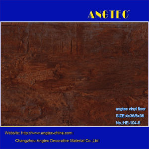 5mm Medium Antique Wood Texture PVC Floor Covering pictures & photos