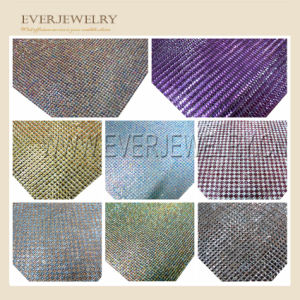 24*40 Fashion Rhinestone Mesh Trimming pictures & photos