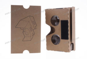 New Design 3D Vr Case 2.0 Virtual Reality Vr Headset Cardboard 3D Glasses Vr pictures & photos