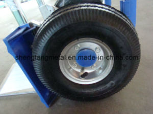 Aluminum Hand Trolley with 3.50-4 Rubber Wheel pictures & photos