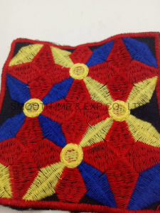 Newest Fashion Colorful Square Ethnic Embroidery Patch Garment Accessorye Badge pictures & photos