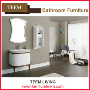 Wooden Bathtub Cabinet with Mirror pictures & photos