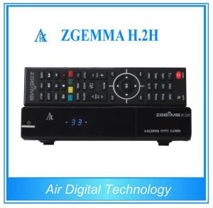 Dual Core CPU Satellite TV Receiver Linux 4.01 Combo DVB S2 DVB T2/C with IPTV Zgemma H. 2h pictures & photos